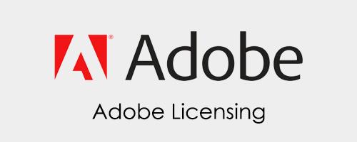 Shop Adobe Licensing