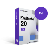 EndNote 20 – Single Research Licence [For University owned computers]